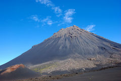 Fogo volcano on Fogo Island, Cape Verde - Africa. Travel to Africa (Cape Verde), Fogo Volcano on Fogo Island. Summer holidays with Fostertravel.pl Royalty Free Stock Photos