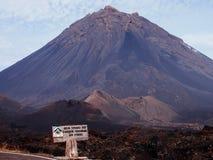 Fogo vulkan 3 Arkivfoton