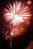 Fogos-de-artifício (1) Fotografia de Stock