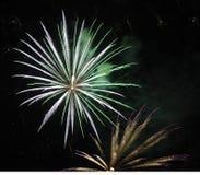 Fogos-de-artifício Imagem de Stock