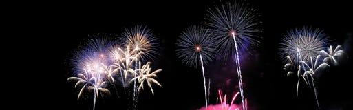 Fogos-de-artifício. fotografia de stock