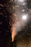 Fogos-de-artifício Foto de Stock