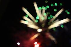 Fogos-de-artifício Fotografia de Stock