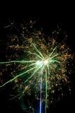 Fogos-de-artifício abstratos Imagem de Stock Royalty Free