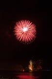 Fogos-de-artifício, agradáveis, França Foto de Stock Royalty Free