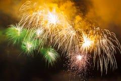 Fogos-de-artifício bonitos Foto de Stock