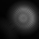 Fogos-de-artifício brancos ou efeito da luz sadio do círculo, fundo abstrato Fotos de Stock