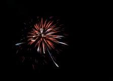 Fogos-de-artifício coloridos Fotografia de Stock Royalty Free