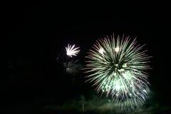 Fogos-de-artifício coloridos da celebração Imagens de Stock Royalty Free