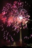 Fogos-de-artifício da C.C. Imagem de Stock Royalty Free