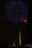 Fogos-de-artifício da C.C. Foto de Stock