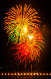 Fogos-de-artifício de Carlsbad Foto de Stock
