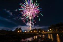 Fogos-de-artifício de Prattville Imagens de Stock Royalty Free