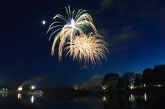 Fogos-de-artifício - Dia da Independência Imagem de Stock Royalty Free
