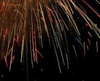 Fogos-de-artifício do dia de Canadá Fotos de Stock