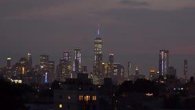 Fogos-de-artifício do Dia da Independência sobre Manhattan, New York City vídeos de arquivo