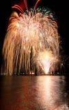 Fogos-de-artifício do verão fotos de stock