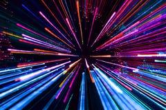 Fogos-de-artifício em multi cores Fotografia de Stock Royalty Free