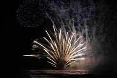 Fogos-de-artifício em Telavive Imagem de Stock Royalty Free