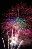 Fogos-de-artifício espectaculares Foto de Stock