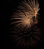 Fogos-de-artifício EUA Foto de Stock Royalty Free