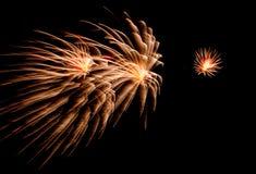 Fogos-de-artifício EUA Foto de Stock