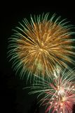 Fogos-de-artifício - Feuerwerk Foto de Stock Royalty Free