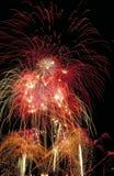 Fogos-de-artifício galore Imagem de Stock