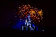 Fogos-de-artifício mágicos 15 do reino Imagem de Stock Royalty Free