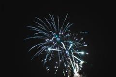 Fogos-de-artifício naturais brilhantes fotos de stock royalty free