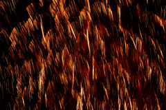 Fogos-de-artifício no fundo preto Imagem de Stock Royalty Free
