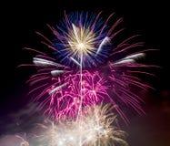 Fogos-de-artifício o 5 de novembro Guy Fawkes Night Foto de Stock Royalty Free