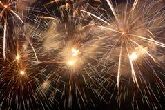 Fogos-de-artifício, saudação. fotos de stock