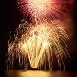 Fogos-de-artifício, saudação imagem de stock royalty free