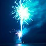 Fogos-de-artifício, saudação foto de stock