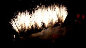 Fogos de artifício sobre Heidelberg na noite filme
