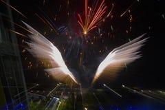 Fogos-de-artifício, Território do Norte, Austrália Foto de Stock Royalty Free
