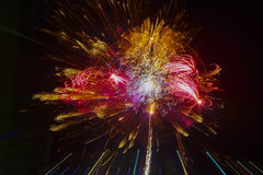 Fogos-de-artifício, Território do Norte, Austrália Fotos de Stock