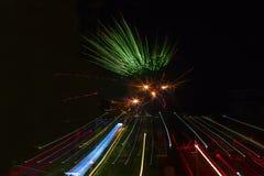 Fogos-de-artifício, Território do Norte, Austrália Fotografia de Stock