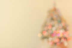 Fogos de uma árvore do ano novo Fotos de Stock Royalty Free