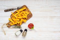 Fogos franceses com condimentos e espaço da cópia Foto de Stock