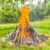 fogueira Fotografia de Stock