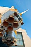 foguete de espaço fotos de stock