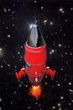 Foguete de espaço Fotografia de Stock
