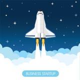 Foguete de espaço Fotos de Stock Royalty Free