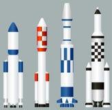 Foguetes de espaço Imagens de Stock Royalty Free