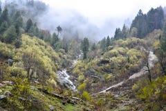 Fogy góry w Naran Kaghan dolinie, Pakistan Fotografia Royalty Free