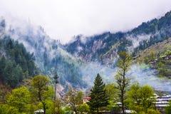 Fogy góry w Naran Kaghan dolinie, Pakistan Zdjęcie Royalty Free