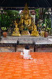 Foi dans le temple asiatique Photographie stock