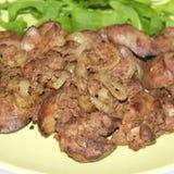 Foie de poulet photo stock